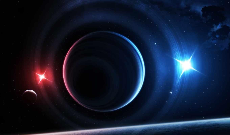 планет, танец, планеты, свет, космос,
