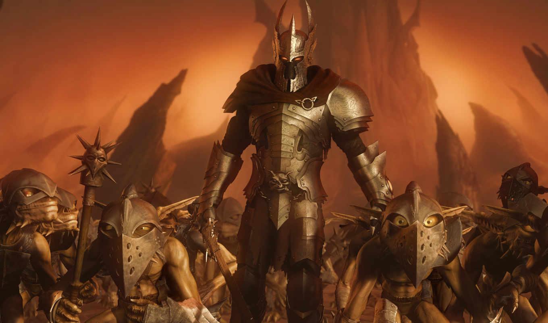 games, overlord, фэнтези, монстр, фантастика, игры, картинка, color, desktop,
