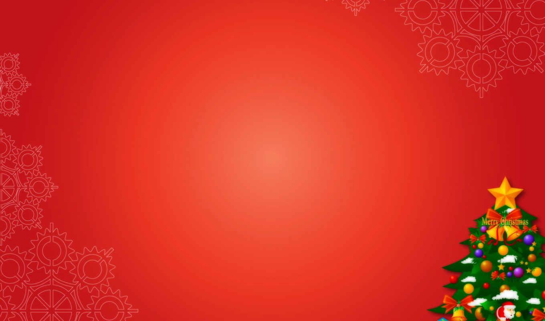 christmas, tree, background, merry, дек,