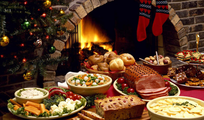 год, новый, праздничный, еда, рождественские, christmas, блюда, мясо, камин, ужин, праздники, носки, елка, новогодние, para, que, рождеством, новым, годом,