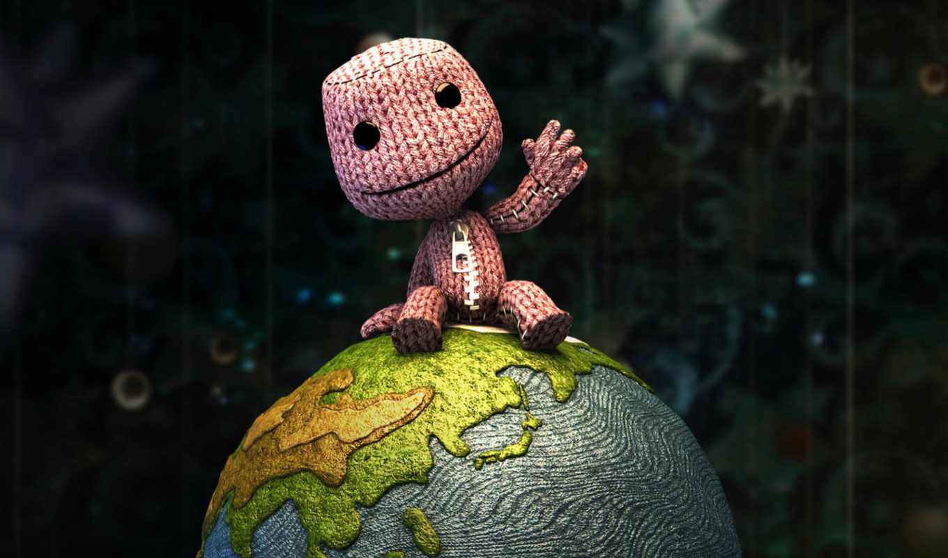planet, little, sackboy, биг, нечто,