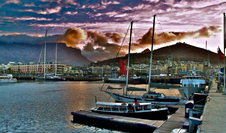 del, ciudad, cabo, más, sudáfrica, town, cape,