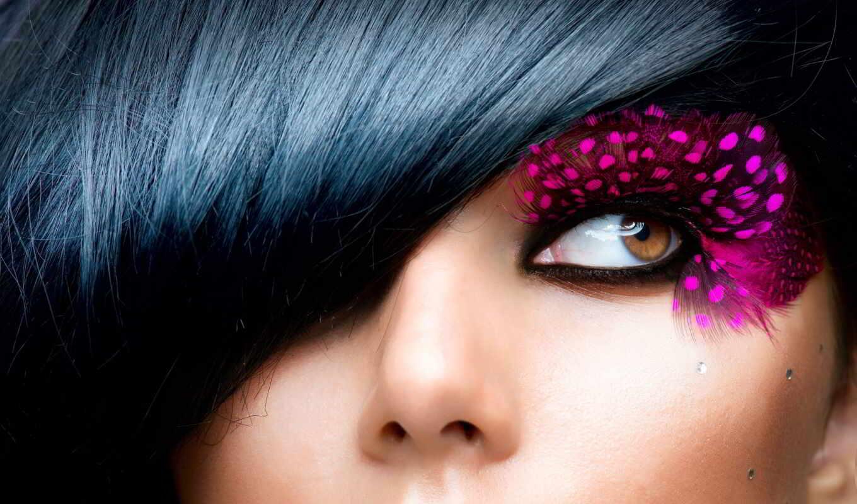 макияж, девушка, fashion, красавица, модель