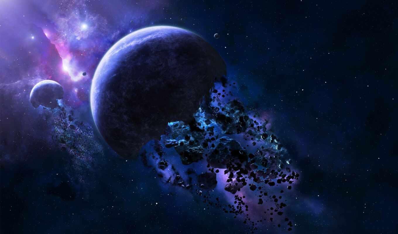 planet, космос, pic, астероид, арта