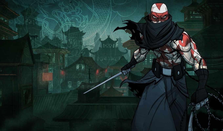 воители, ниндзя, игры, ninja, марк,
