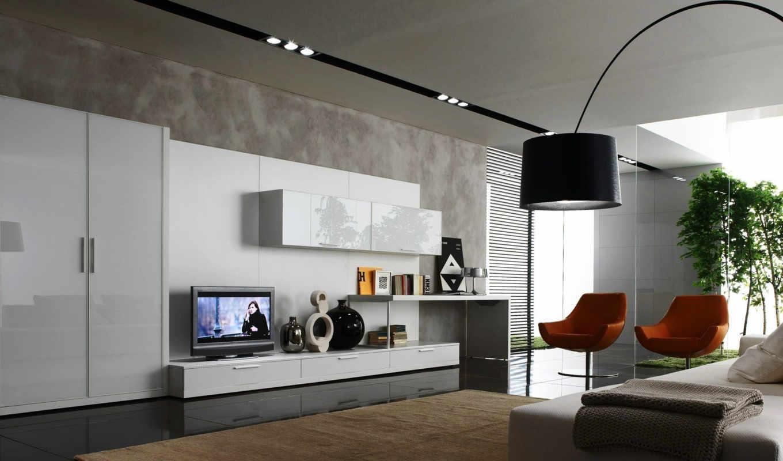 интерьер, шкаф, дизайн, комната, кресла, стиль, лампа, screen, мебель, full,