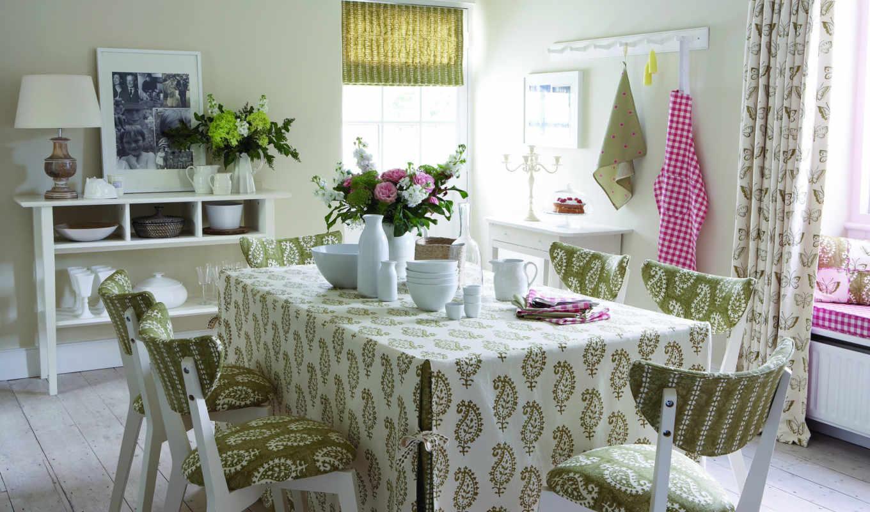 интерьер, дом, дизайн, вилла, стиль, коттедж, столовая,