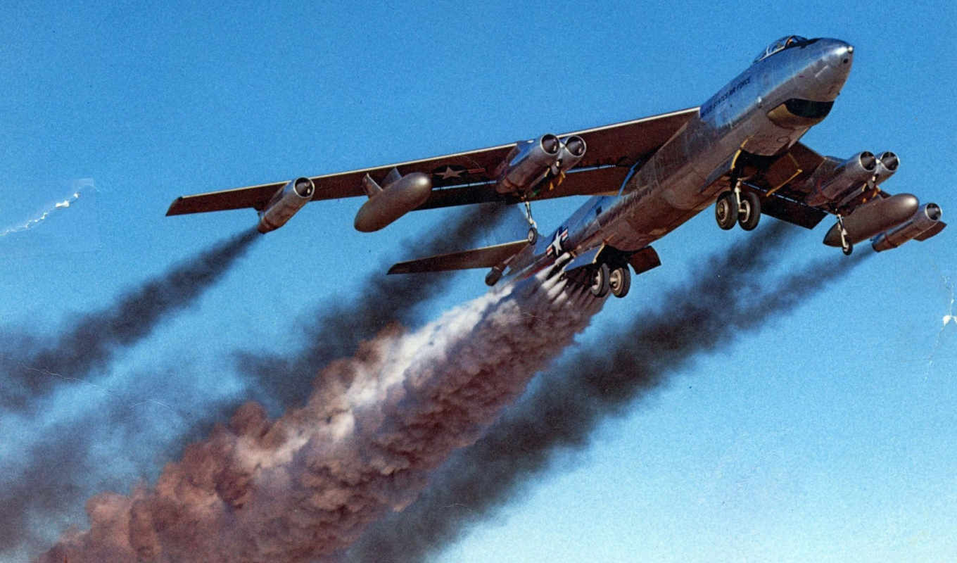boeing, самолёт, contrails, jet, rato, assisted, bomber, military, смотрите, rocket, smokey, нравится, been,