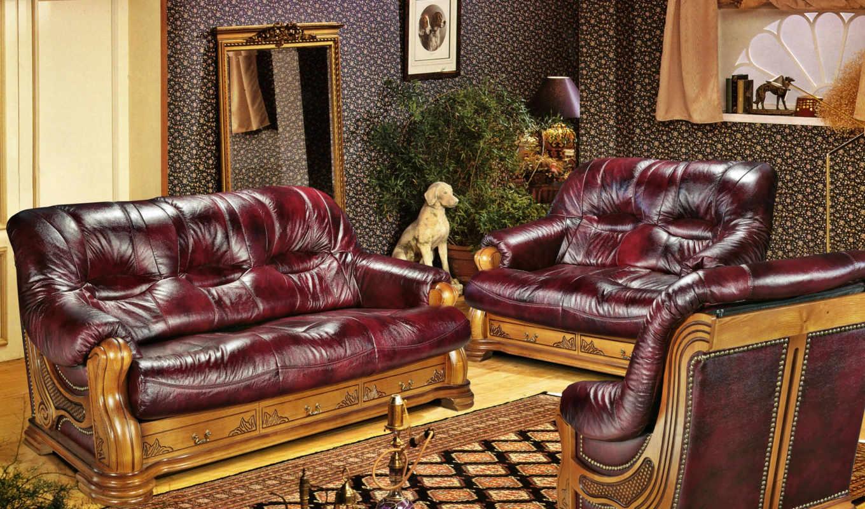 мебель, стиле, гостиной, барокко, интерьера, living,