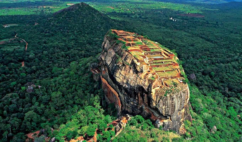 sigiriya, lanka, sri, لسطح, rock, nature, landscapes, forest, world, cultural, packages,