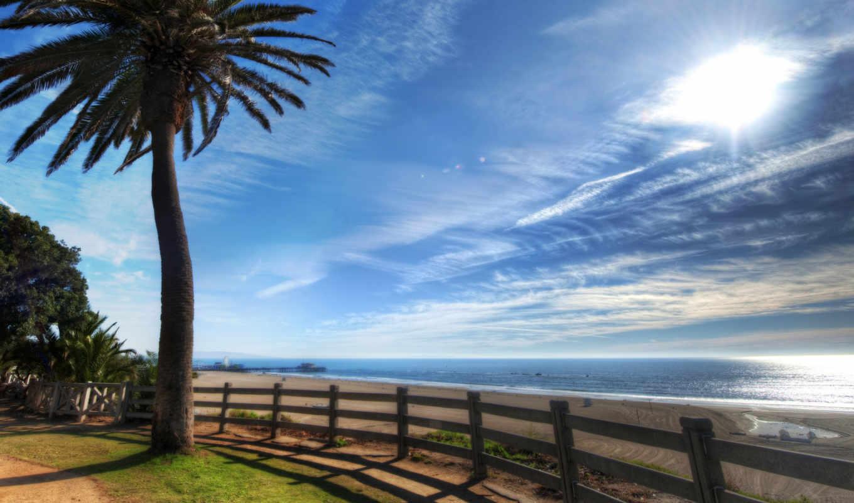 los, побережье, angeles, california, анджелеса,