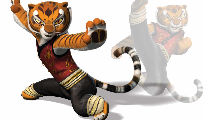 панда, кунг, tigresa, pantalla, тигрица,