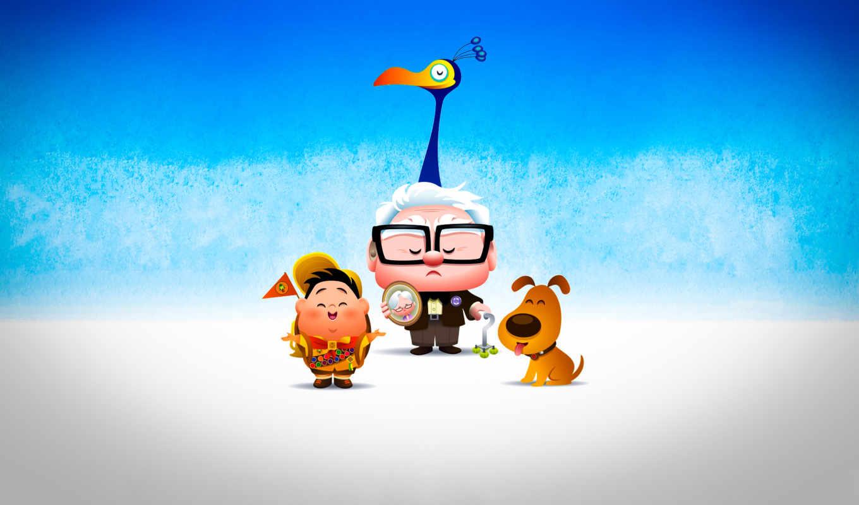 мультфильмы, старик, boy, собака, птица, нояб,