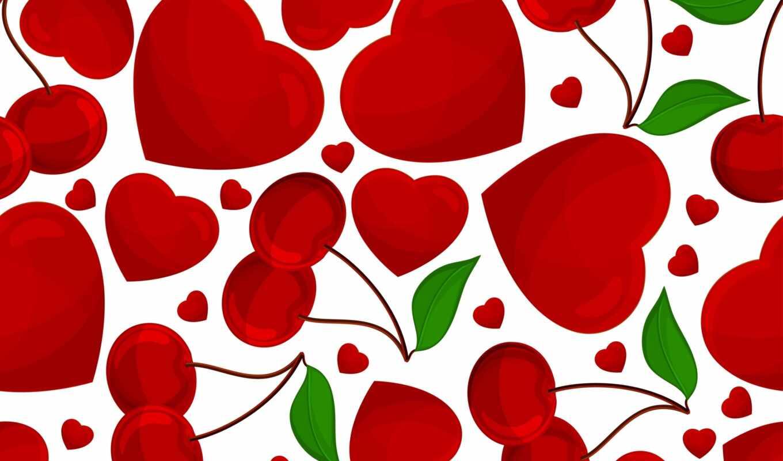 день, сердце, valentine, святая, red, текстура, color, картинка