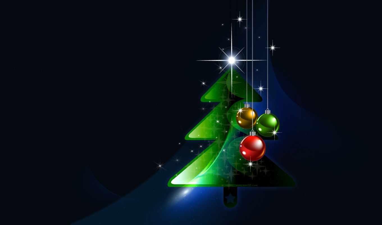 дек, new, год, новогодние, праздник, дерево,