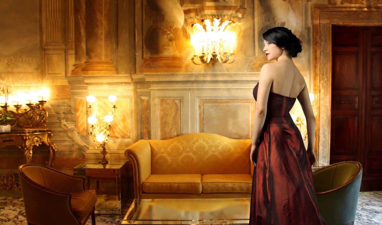 комната, лампы, интерьер, девушка, nevseoboi, качественные,