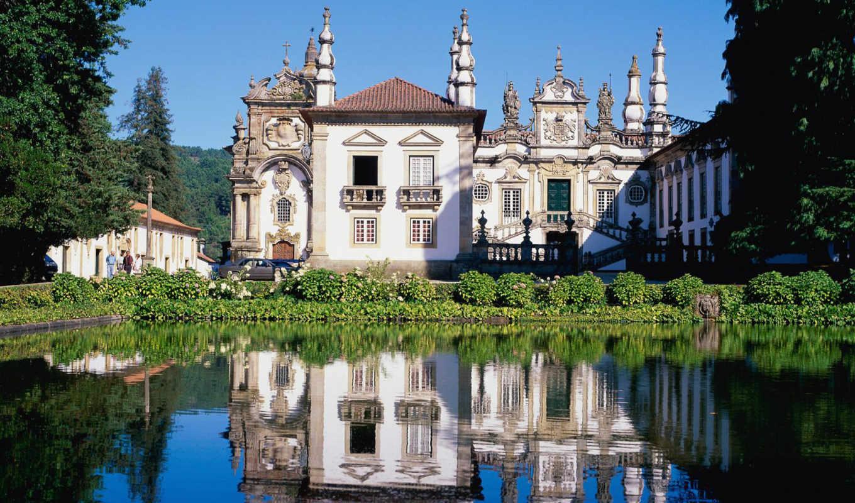 mateus, palace, tras, montes, день, architecture, portugal, сборник, португалии,