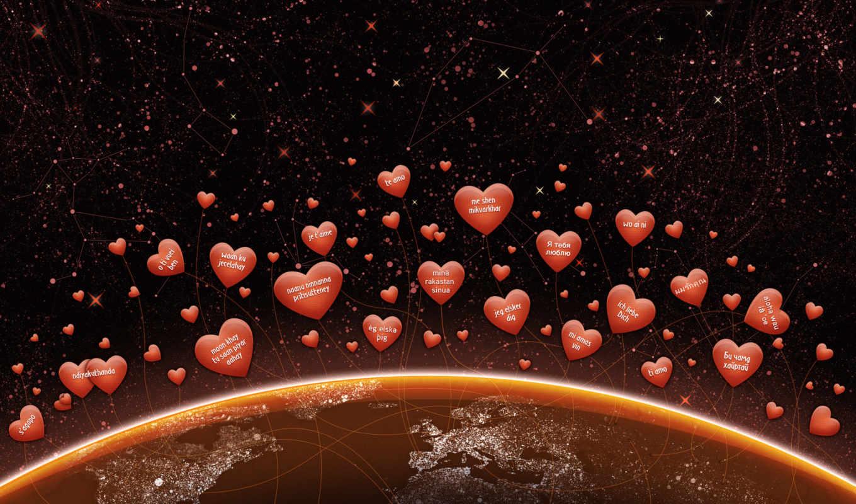 love, день, любви, сердечки, валентина,