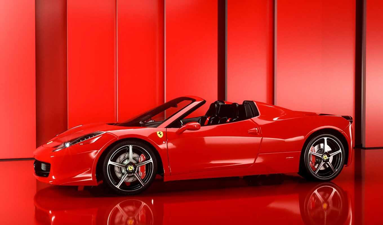 ferrari, арты, red, car, italia, public, domain, авто, game