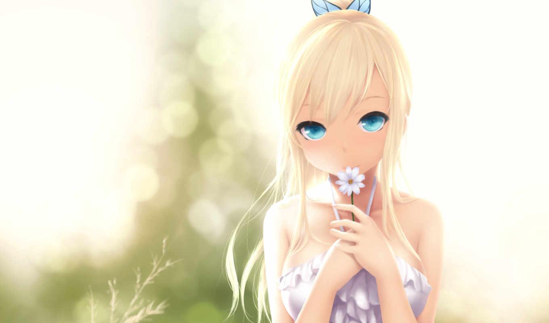 sena, kashiwazaki, sukunai, аниме, boku, tomodachi, цветок, девочка, изображение, картинок,