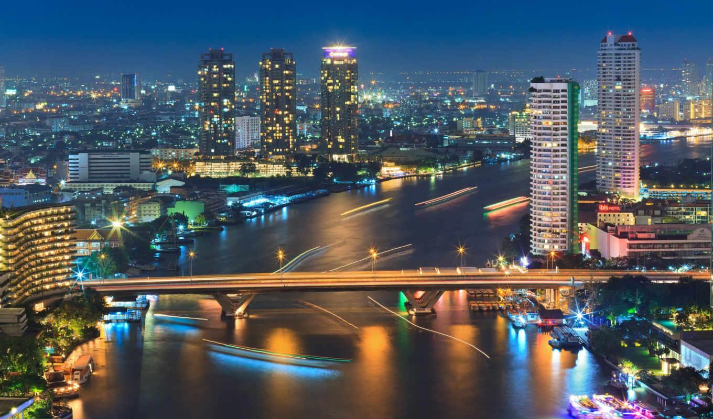 , таиланд, бангкок, bangkok, ночь,