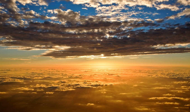 природа, солнца, oblaka, изображения, небо, закатов, закате, ruído, просмотров, фоны,