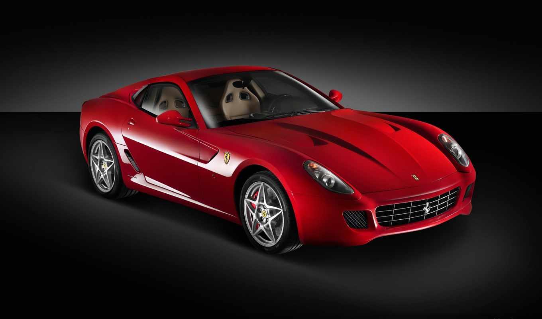 машины, красные, ferrari, nissan, еще,