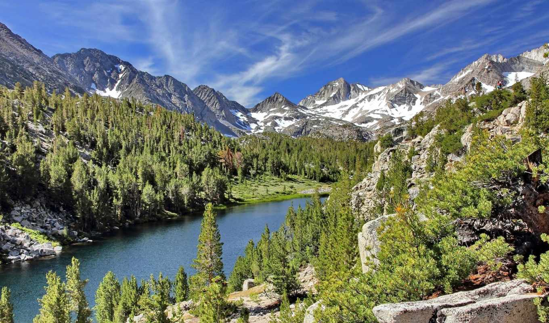 wilderness, iphone, little, muir, john, долина, lakes, озеро,