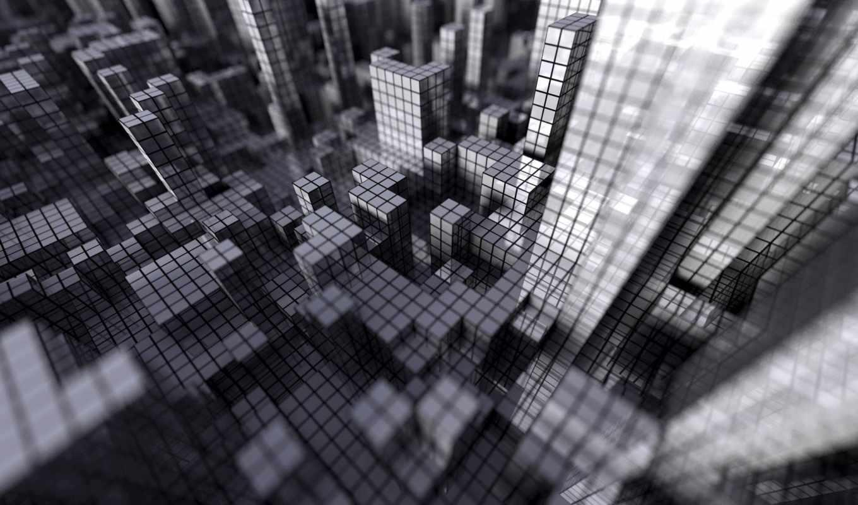 сетка, серый, кубики, file, mind, lab, cube, with, смотрите, password, windows, neon, digital,
