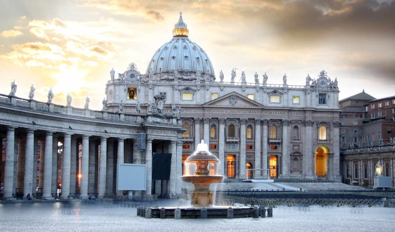san, basilica, pietro, rome, vatican, italy, photo, stock, peter, saint,
