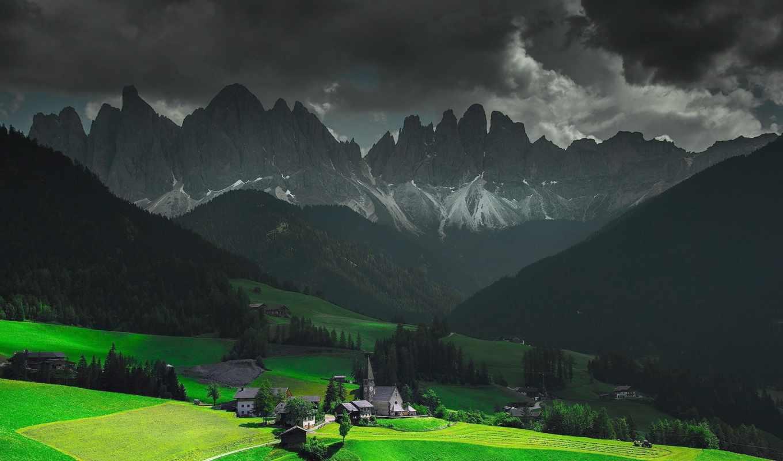 разное, горы,