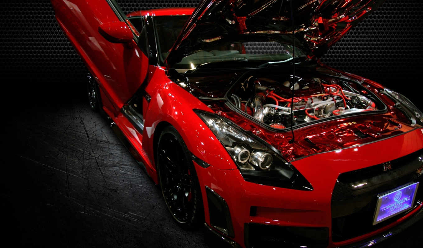 nissan, gtr, engine,