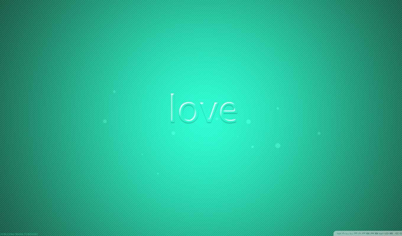 love, надписи, зелёный