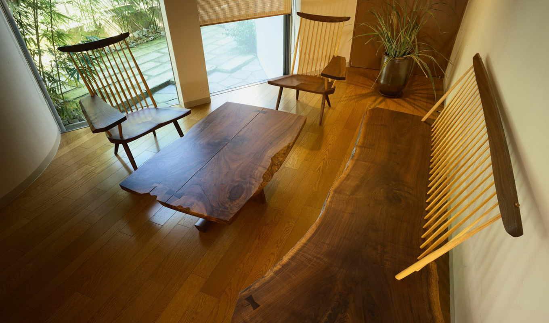 дома, интерьер, гостиной, dome, lounge, деревянного,
