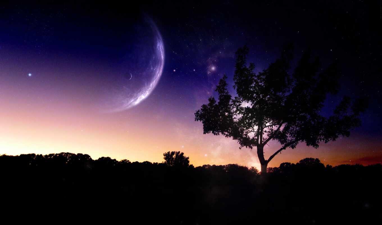 facebook, космос, cover, covers, scene, moons, два, timeline, allex, фото, profile,