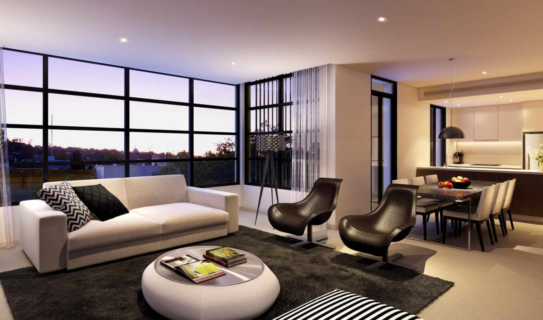 дизайн, интерьер, стиль, дом, жилая, комната, квартира, інтер, єр, кімнати, wsvga,