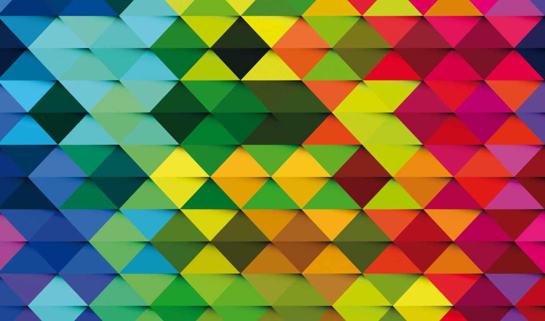 фон,треугольники,радуга,
