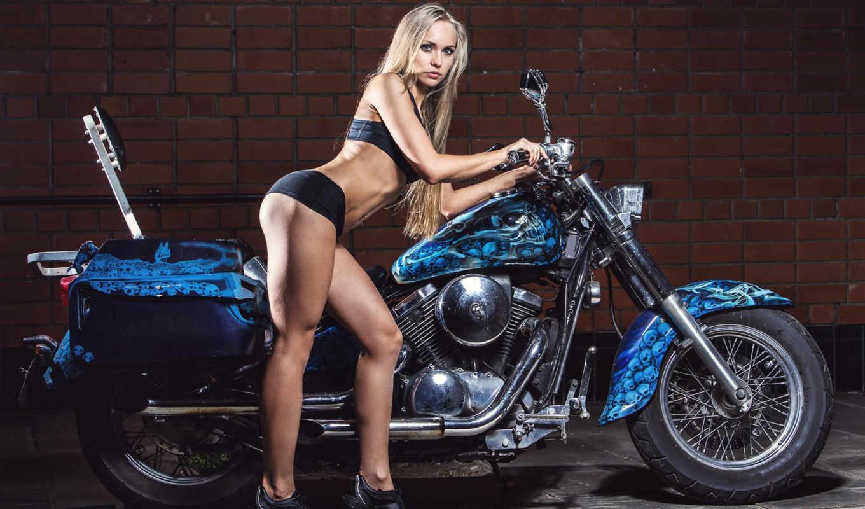 Pornstars sexy girls on bikes