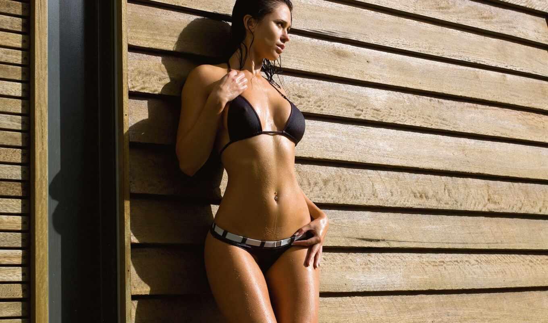 бикини, wet, модель