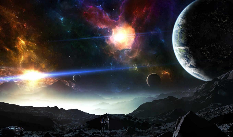 art, desktop, you, free, resolution, digital, here, space, fantasy, planets, artworks,