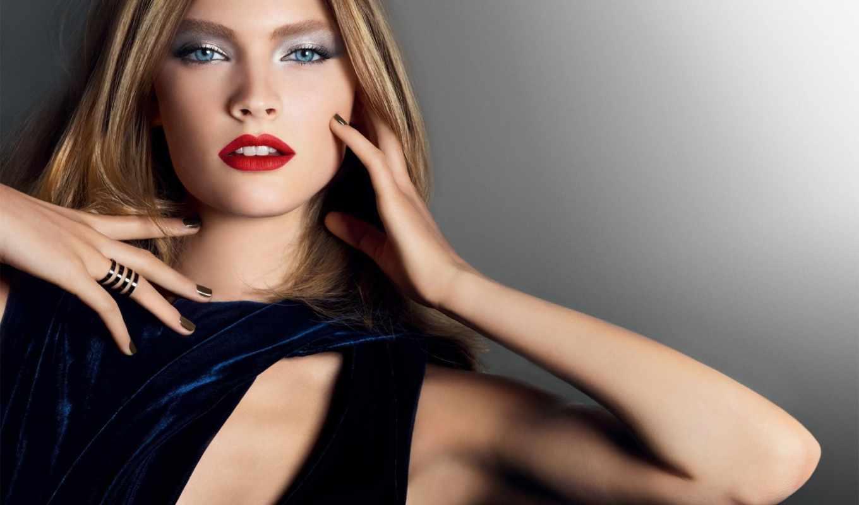 стиль, красоты, макияж, красавица, вечер,