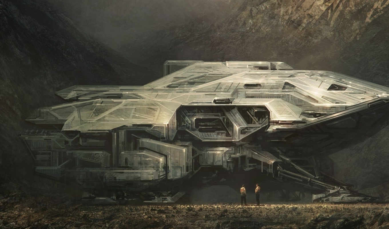 effect, spaceship, concept, mass, art, spaceships, ships, использование,