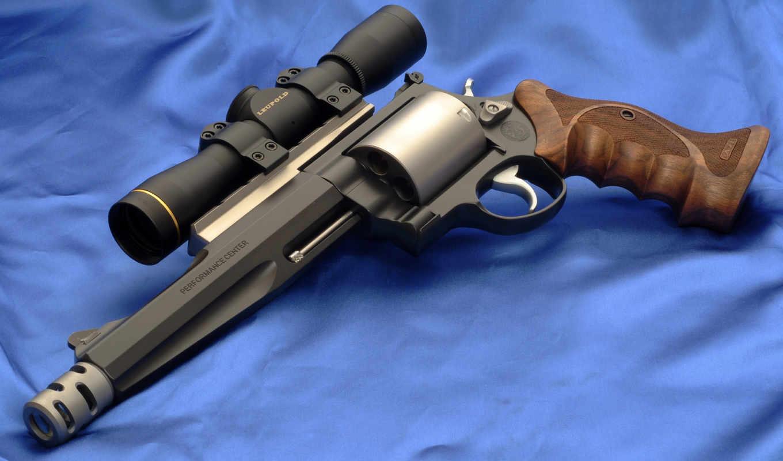 люпольд, прицел, model, wesson, smith, leupold, револьвер,