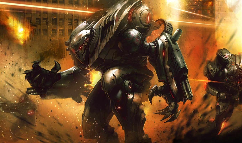 armour, воин, art, меч, chronoscape, resurgence,