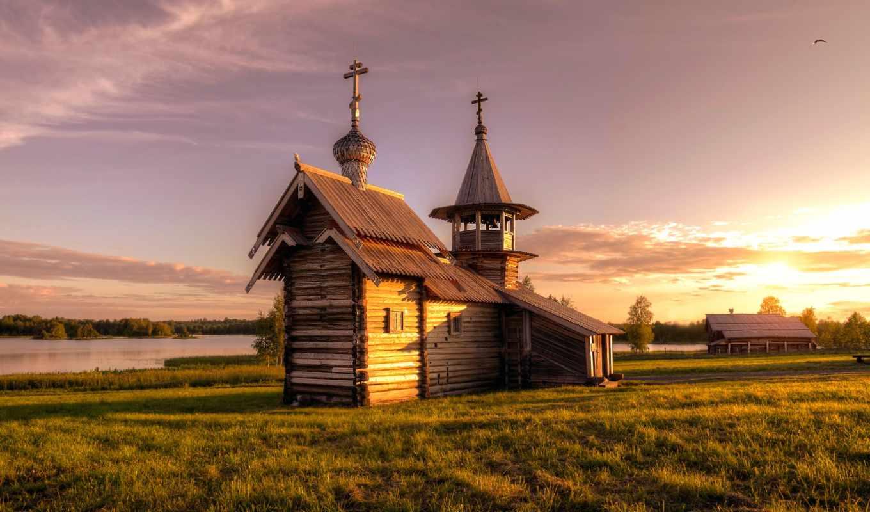 pavel, chapel, деревня, петра, church, кижи