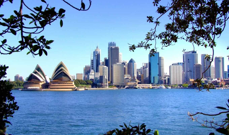 город, австралия, siden, театр, sydney, оперный, landmark, architecture, дневной, house