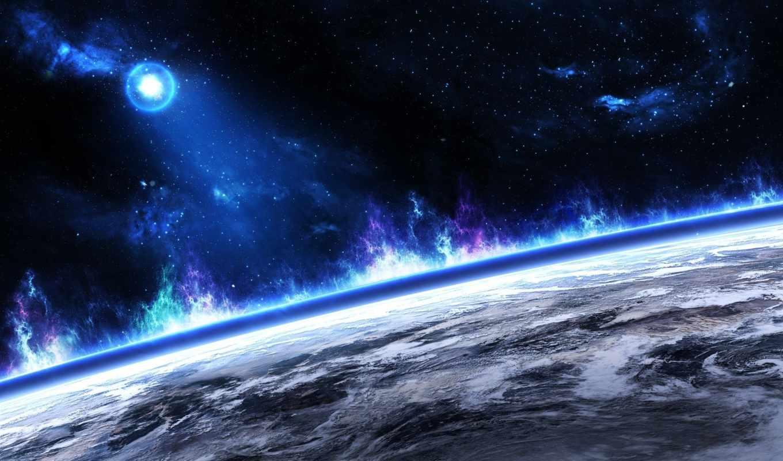 звезды, planet, land, картинка,