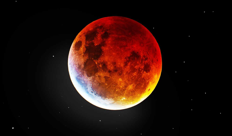 луна, кровь, eclipse, desktop