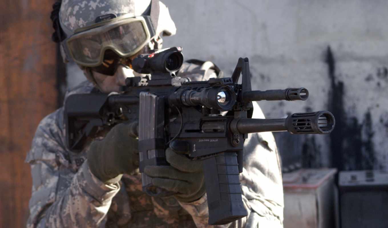 солдаты, mass, армия, xm, lss, винтовка, снайперы, автомате, снайперская, установленная,
