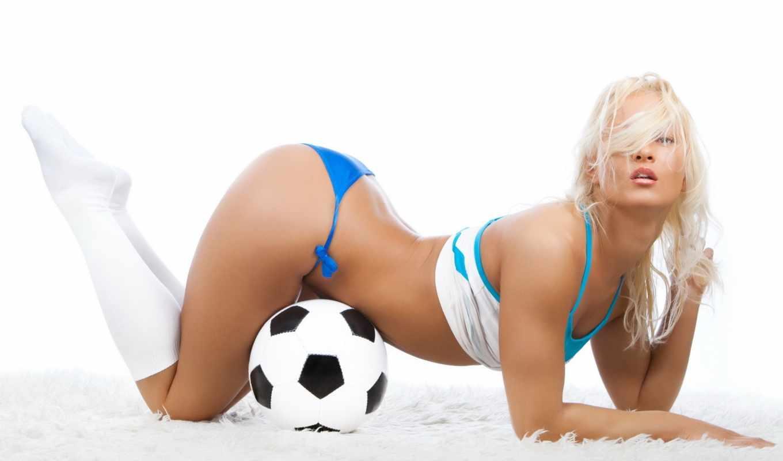 девушки, спорт, футбол, девушка,